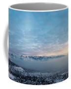 Sunset Above The Smog  Coffee Mug