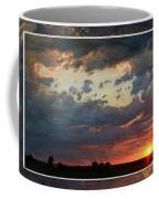 Sunset After A Thunderstorm Photoart Coffee Mug