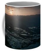 Sunset And Rice Terrace Coffee Mug