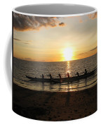 Sunset At Anaeho'omalu Bay Coffee Mug
