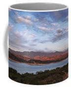 Sunset At Cachuma Lake Coffee Mug