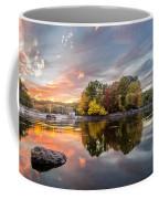 Sunset At Cambridge Reservoir Coffee Mug