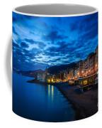 Sunset At Camogli In Liguria - Italy Coffee Mug