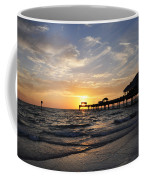 Sunset At Clearwater Coffee Mug