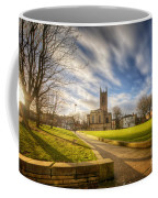 Sunset At Derby Cathedral Park Coffee Mug