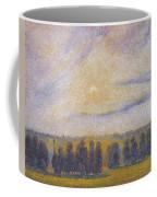 Sunset At Eragny, 1890 Coffee Mug