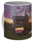 Sunset At Foster Bridge Coffee Mug