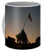 Sunset At Iwo Jima  Coffee Mug