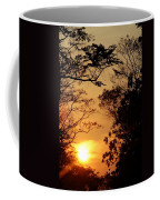 Sunset At Jungle Coffee Mug