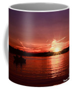 Sunset At Lake Of The Woods Coffee Mug