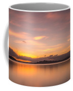 Sunset At Lake Titicaca - Peru Coffee Mug