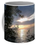 Sunset At Lake Winnipeg Coffee Mug