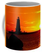 Sunset At Ludington Coffee Mug
