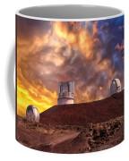 Sunset At Mauna Kea Summit Coffee Mug