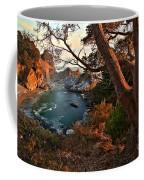 Sunset At Mcway Falls Coffee Mug