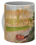 Sunset At Moret Sur Loing Coffee Mug by Camille Pissarro