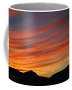 Sunset At Mt. Ord Coffee Mug