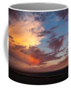 Sunset At Pacific City Coffee Mug