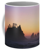 Sunset At Point Of The Arches Coffee Mug