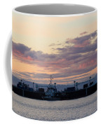 Sunset At Port Angeles Coffee Mug