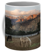 Sunset At Rancho Oso Coffee Mug