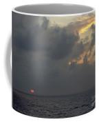 Sunset At Sea Coffee Mug