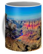 Sunset At South Rim Coffee Mug