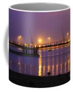 Sunset At Southampton Docks Coffee Mug