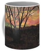 Sunset At Spring City Tenn Coffee Mug