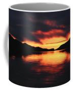 Sunset At Sumdum Coffee Mug