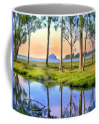Sunset At Sweet Springs Coffee Mug