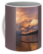 Sunset At The Dock Coffee Mug
