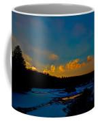 Sunset At The Green Bridge Coffee Mug