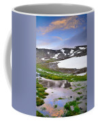 Sunset At The Lake At 3000 M. Hight Coffee Mug