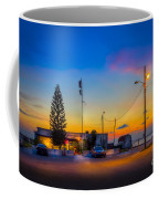 Sunset At The Post Coffee Mug