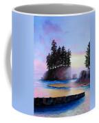 Sunset At Tongue Point Coffee Mug