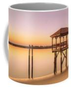 Sunset At Tybee Coffee Mug