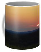 Sunset At Waupaca Wisconsin  Coffee Mug