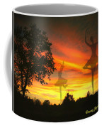 Sunset Ballerina Coffee Mug