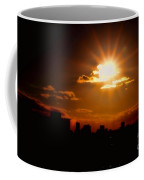 Sunset Behind Ft. Lauderdale By Diana Sainz Coffee Mug