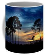 Sunset Behind The Trees Coffee Mug