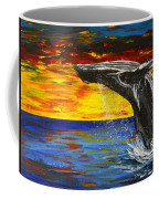 Sunset Breach Coffee Mug
