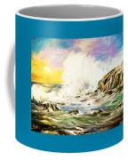 Sunset Breakers Coffee Mug