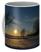 Sunset By The Lake Coffee Mug