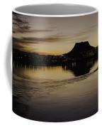 Sunset Canoe Coffee Mug