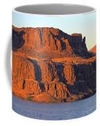Sunset Cliffs At Horsethief  Coffee Mug by Talya Johnson