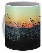 Sunset Colors Island Beach State Park Nj Coffee Mug