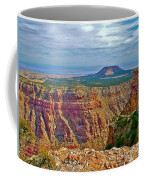 Sunset Crater View From Desert View On East Side Of South Rim Grand Canyon National Park-arizona  Coffee Mug