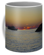 Sunset Cruise At Cape May Coffee Mug