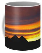 Sunset Death Valley Rectangular Img 0283 Coffee Mug
